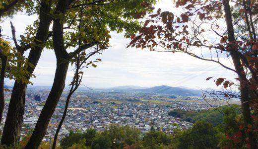 八幡山山頂から
