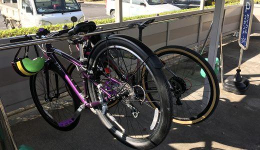 近江風土記の丘 自転車置き場