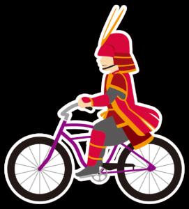 武将自転車アイコン