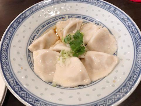 台湾料理「銭記」 水餃子