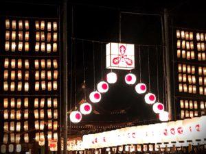 多賀大社万灯祭2018 提灯