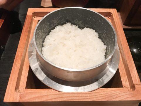 釜炊きご飯