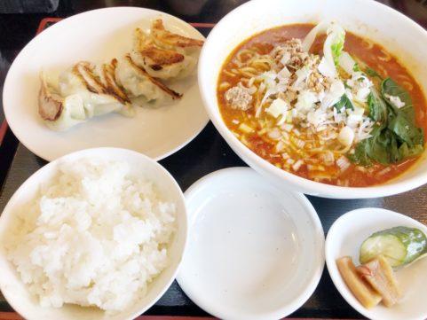 中国料理龍鱗 担々麺ランチ
