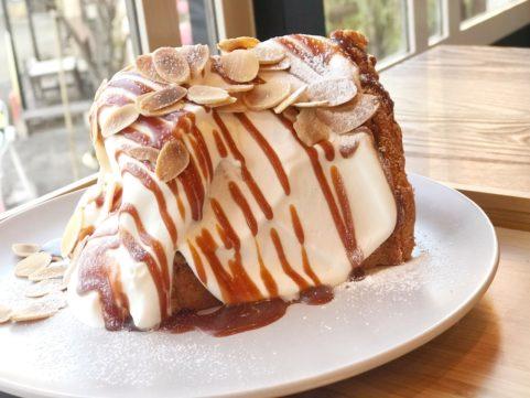 シフォンケーキ「1」 キャラメルソース