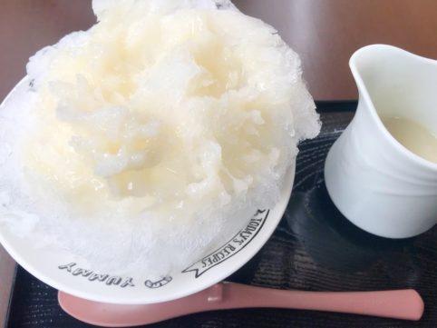 風緑 かき氷(甘酒)