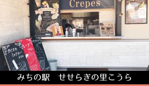 お海の食材を使った本格ピザとクレープが名物の「道の駅」【甲良・みちの駅せせらぎの里こうら】